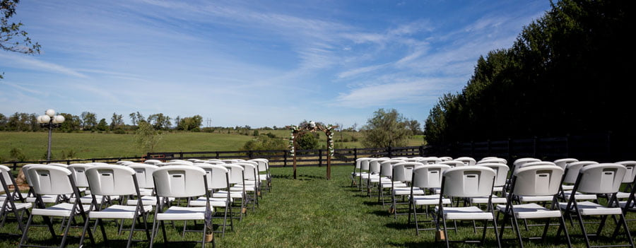 rustic wedding farm