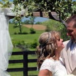 central Kentucky's rustic wedding